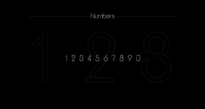 Break Typeface Free 5 - UI Freebies