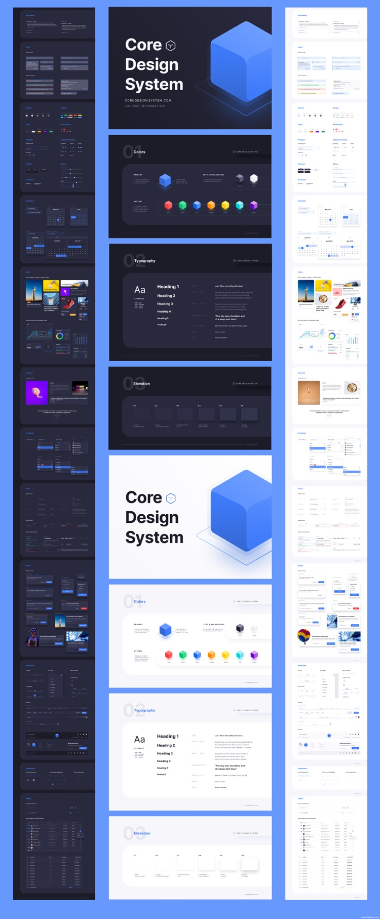 Core Design System Free 2 - UI Freebies