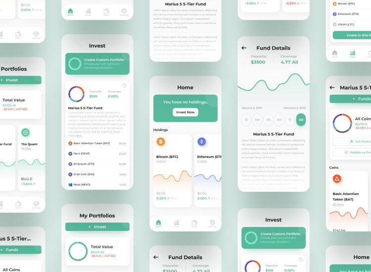 Ember Fund App UI Kit Free