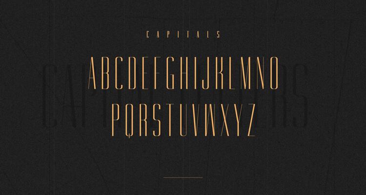 Gorgeous Typeface Free 2 - UI Freebies
