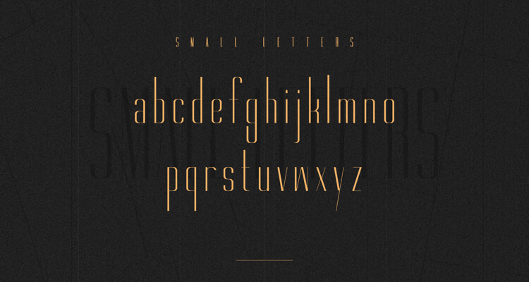 Gorgeous Typeface Free 3 - UI Freebies