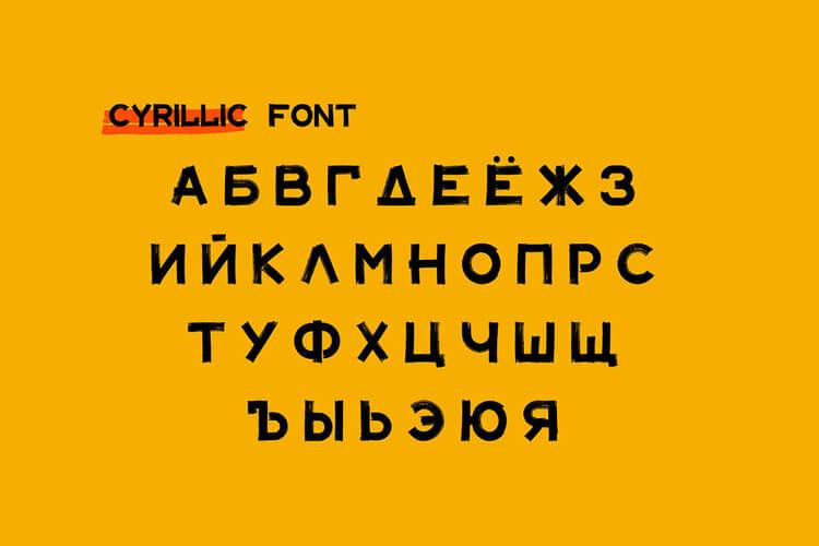 Maler Font Free 3 - UI Freebies