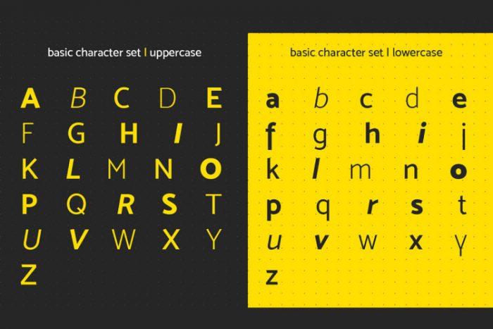 Mosk Typeface Free 4 - UI Freebies