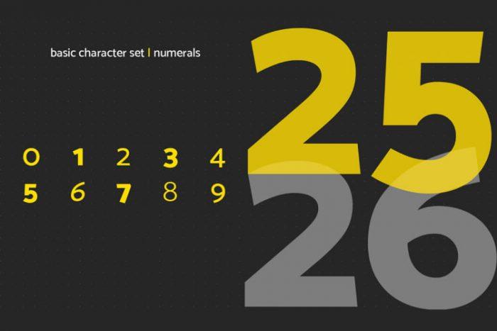 Mosk Typeface Free 5 - UI Freebies
