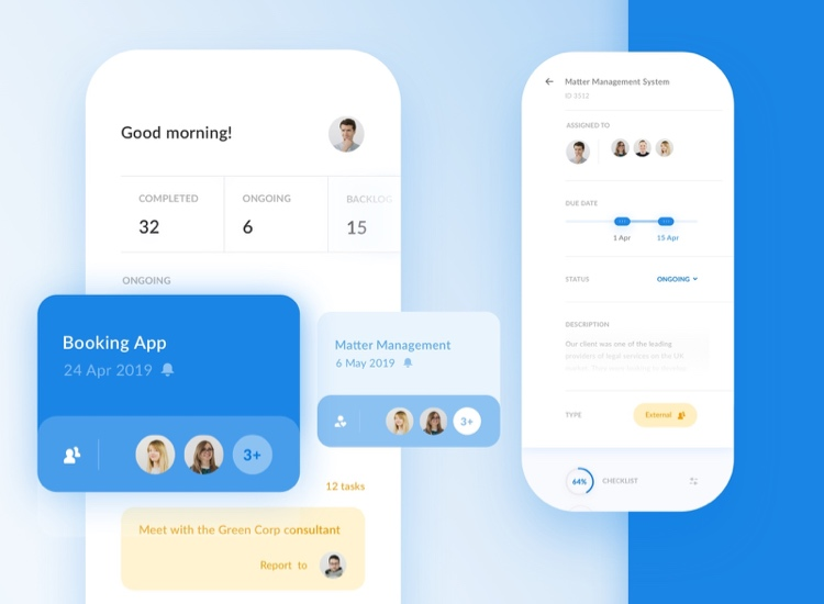 Team Management App Free 3 - UI Freebies