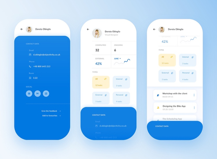Team Management App Free 4 - UI Freebies
