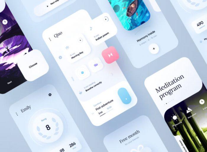 UI design trends in 2021 1 - UI Freebies