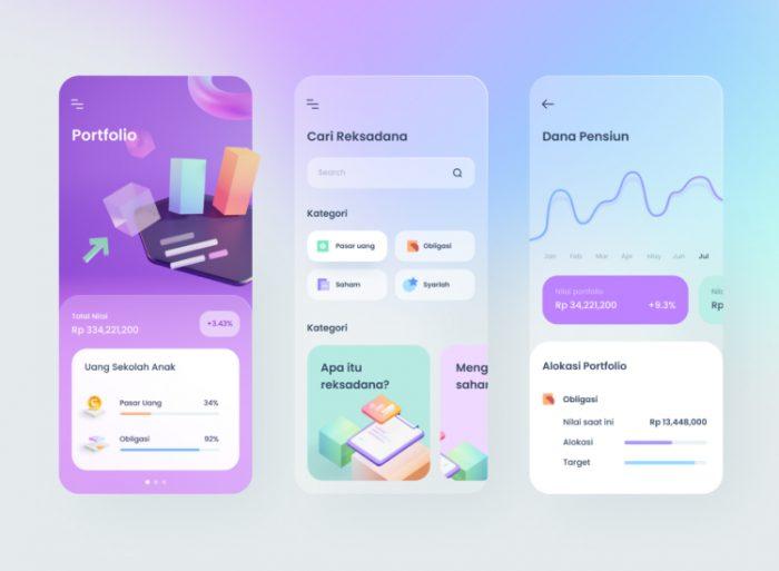 UI design trends in 2021 16 - UI Freebies