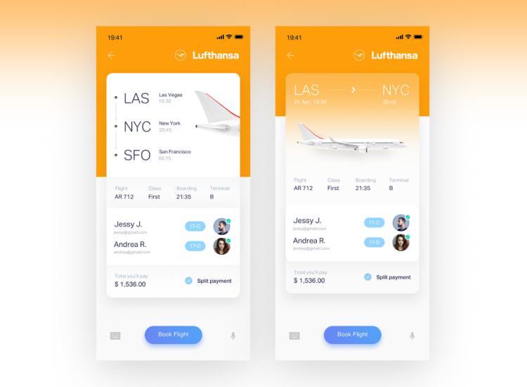 UI design trends in 2021 2 - UI Freebies