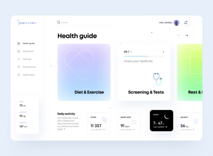 UI design trends in 2021 5 - UI Freebies