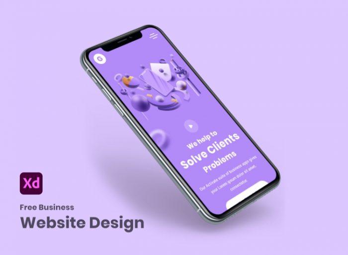 Zurich Business Web Free 3 - UI Freebies