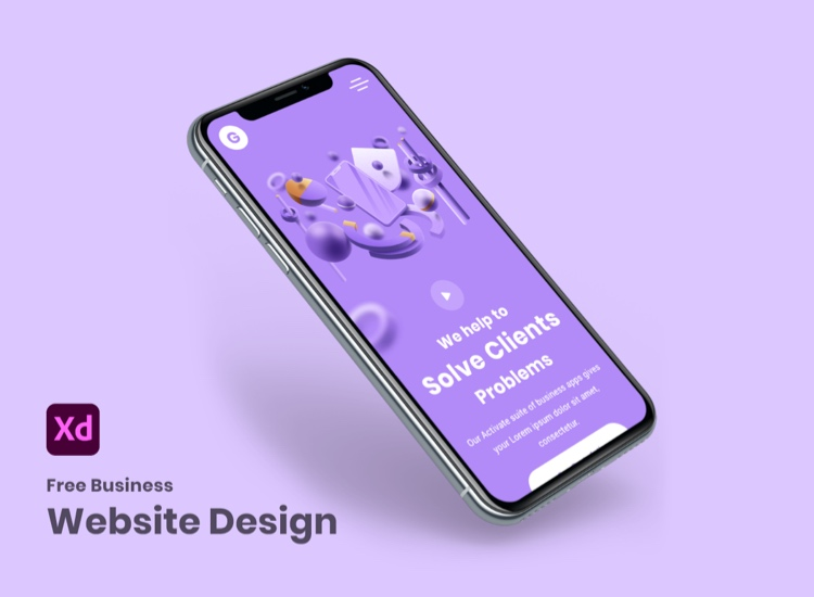 Zurich Business Web Free 3 - UI Freebies