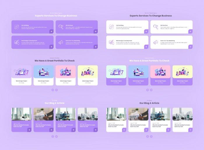 Zurich Business Web Free 4 - UI Freebies