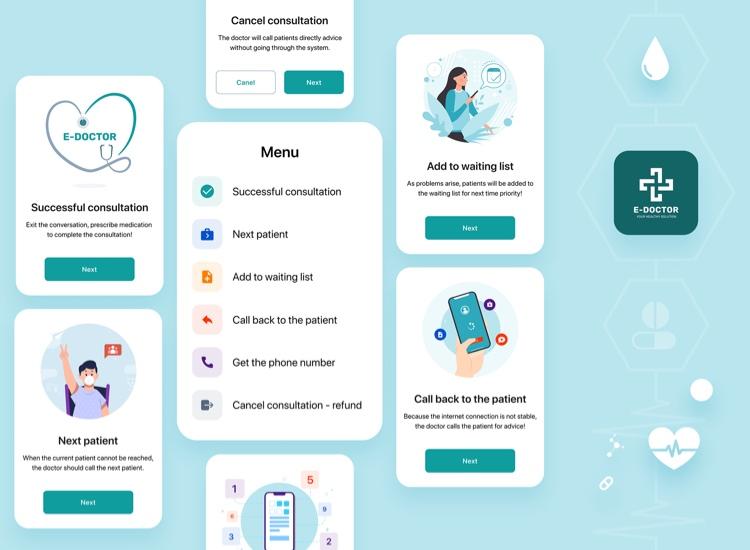 doctor app ui kit 5 - UI Freebies