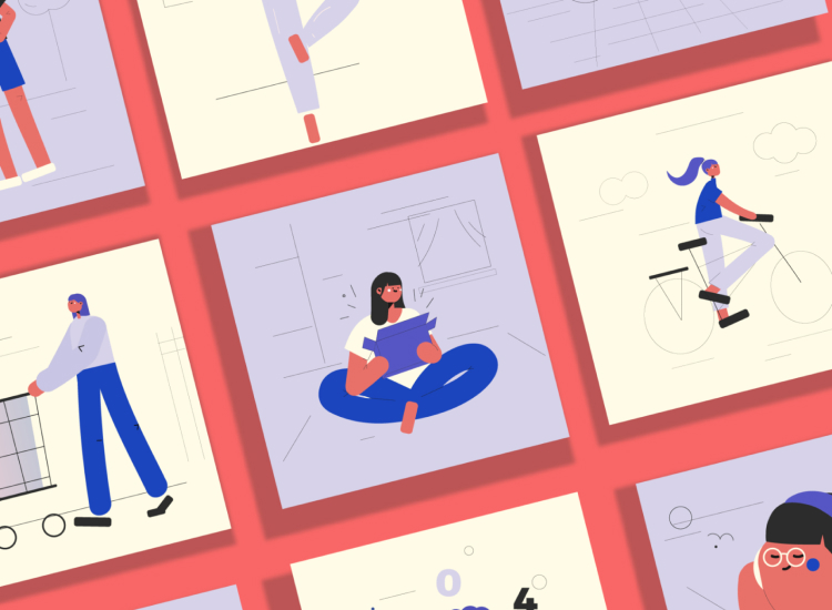 12 Character Illustrations Free - UI Freebies