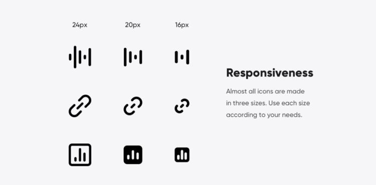 266 Responsive Icons 3 - UI Freebies