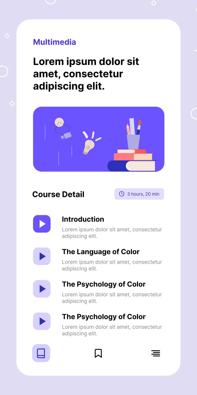 Online App Design Free - UI Freebies