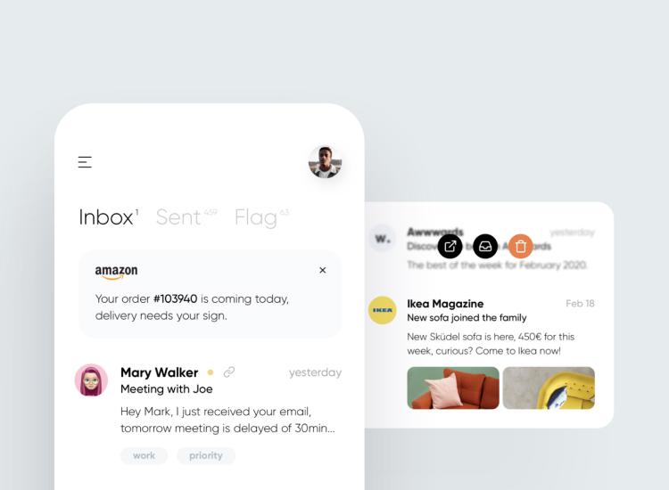 Email UI Kit Figma Free - UI Freebies