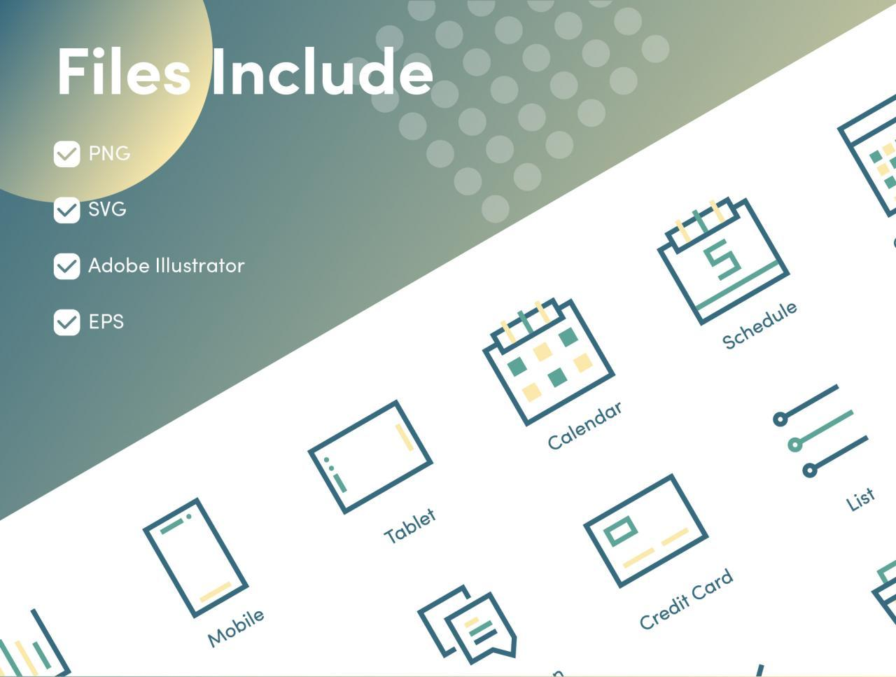 Business and Financial Icons 2 - UI Freebies