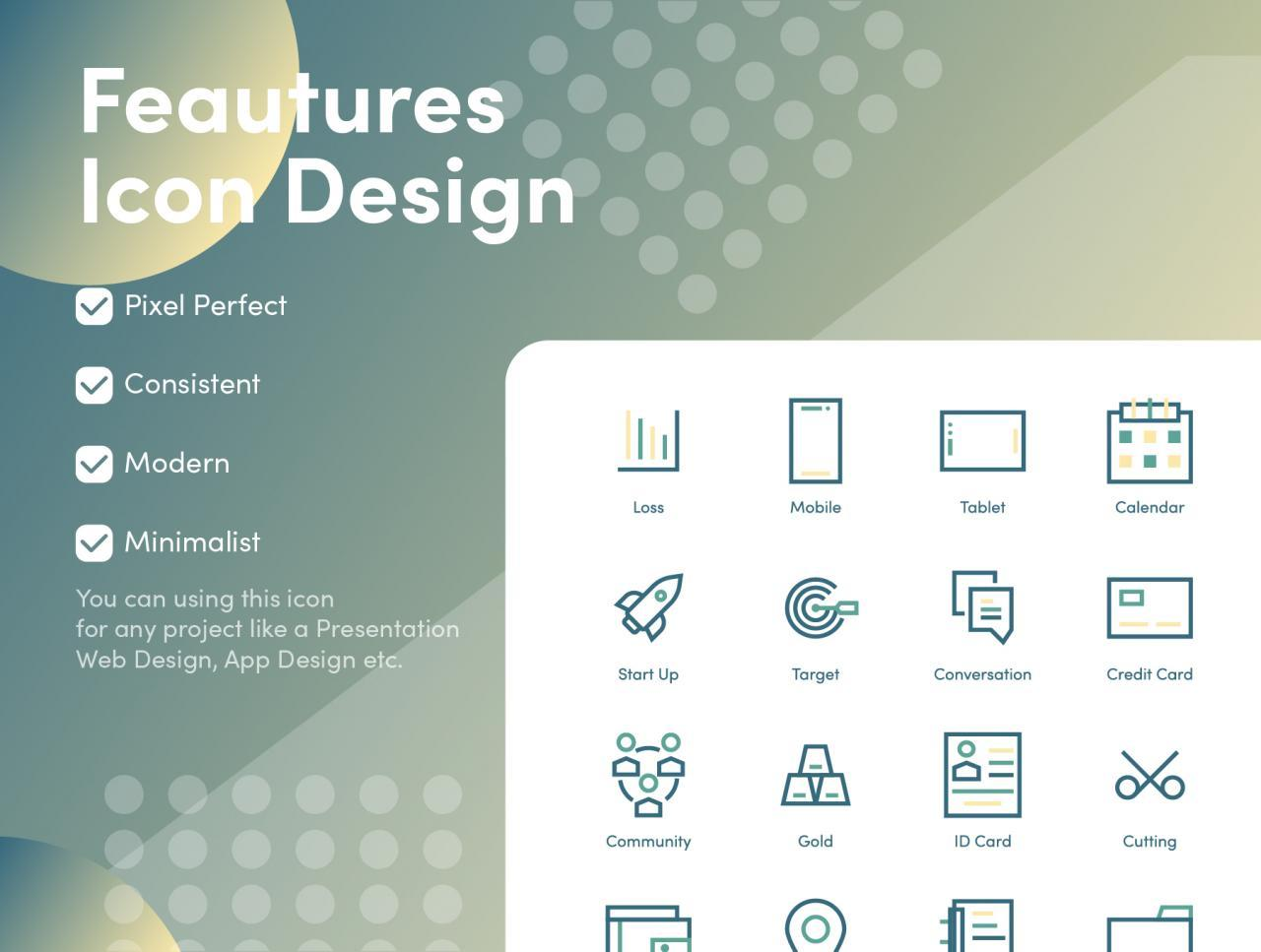 Business and Financial Icons 3 - UI Freebies