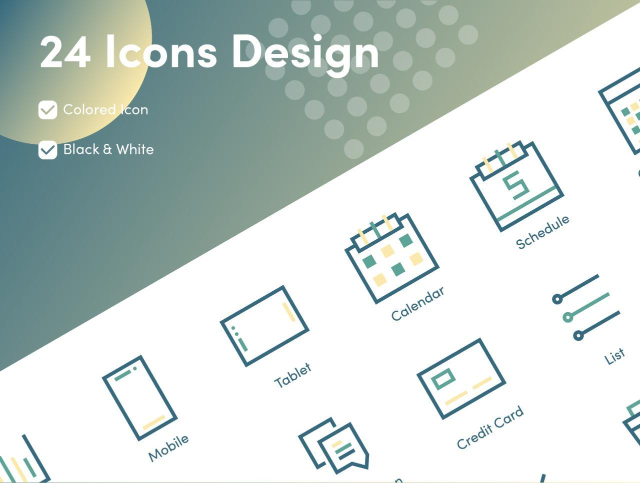 Business and Financial Icons 4 - UI Freebies