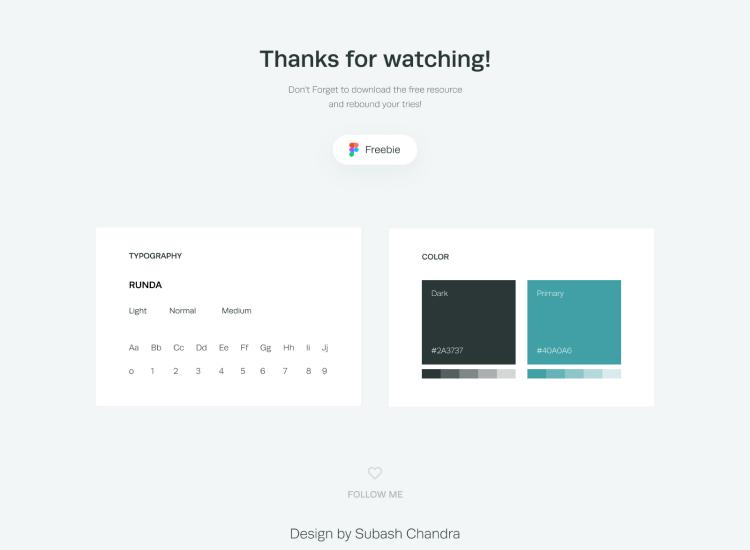 Creative Website Design Templates Free - UI Freebies