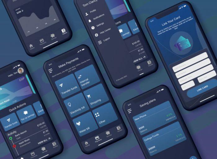 Deverllet Wallet UI Kit 4 - UI Freebies
