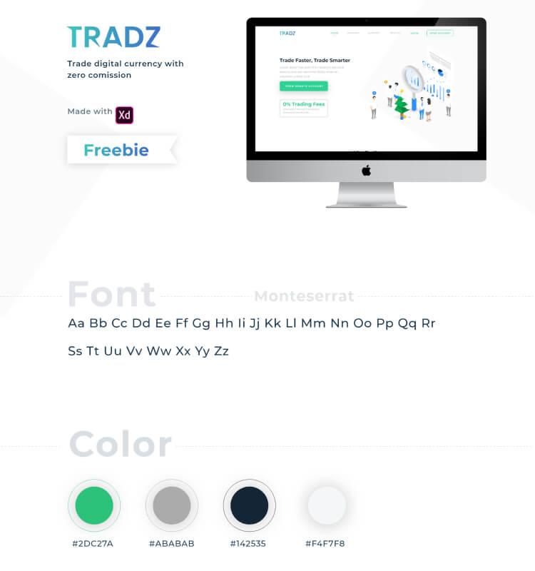 Digital Currency Landing Page 3 - UI Freebies