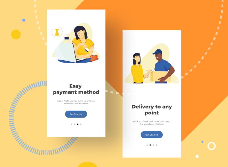 Ecommerce Illustrations Free - UI Freebies