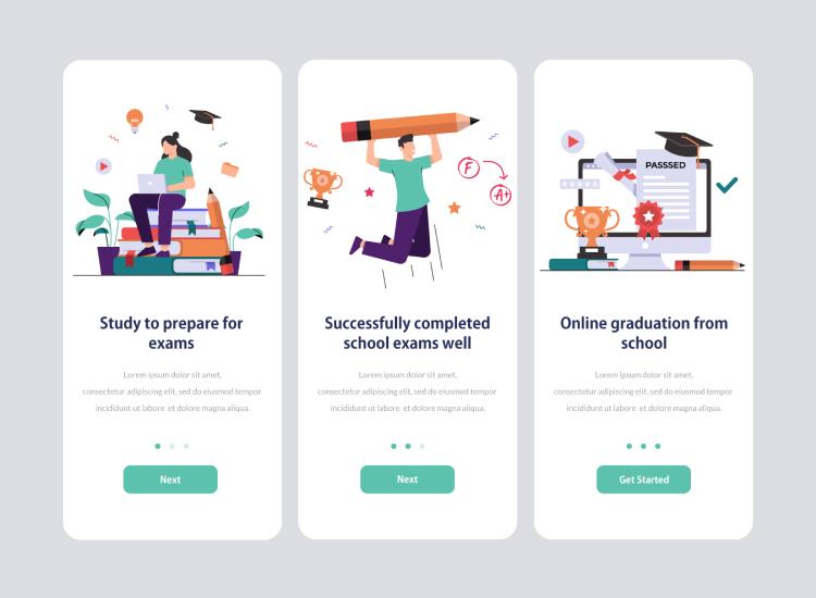11 Education Illustration Vector Free - UI Freebies