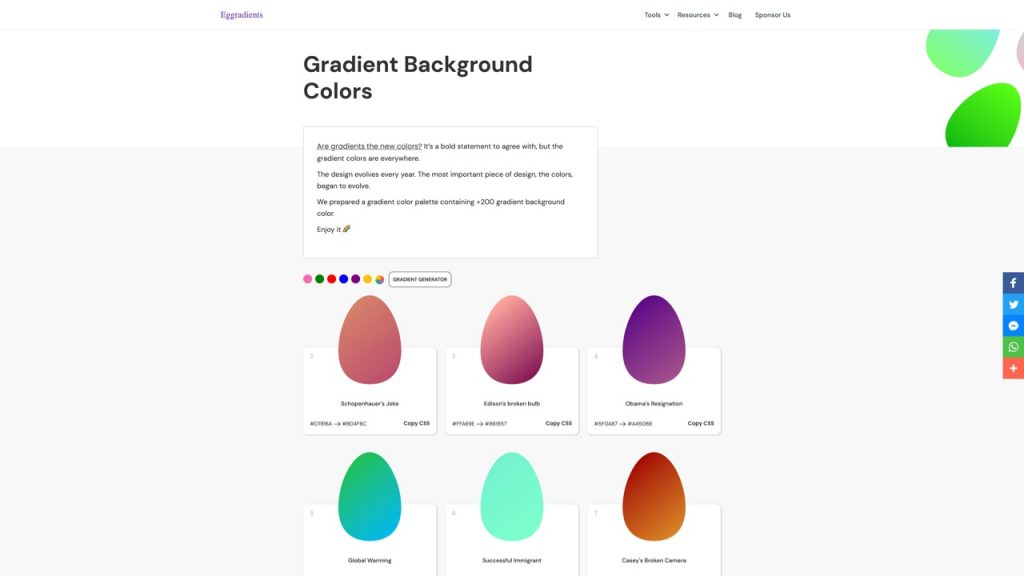 Eggradients 1024x576 1 - UI Freebies