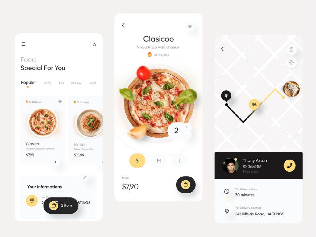 Fode Food Delivery App 1024x768 1 - UI Freebies
