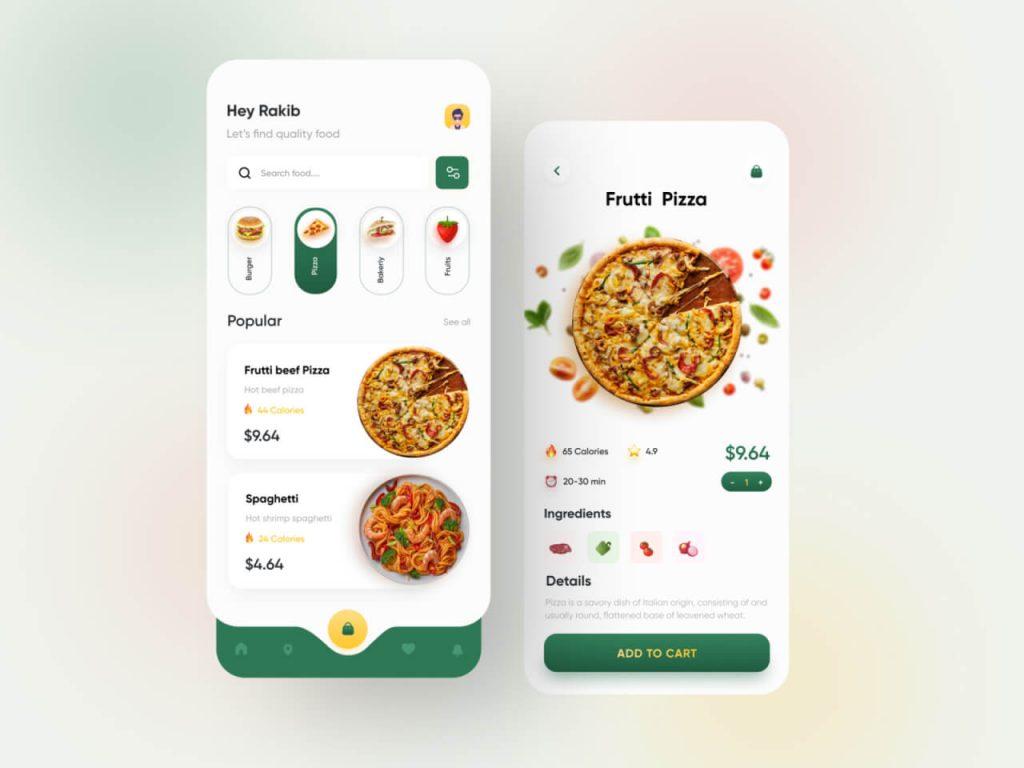 Food App Design 1024x768 1 - UI Freebies