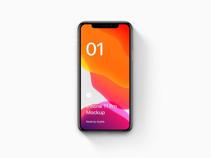 Free iPhone 11 Mockup Set 01 - UI Freebies