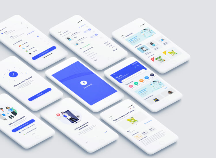 Medtech Medical Store App 5 - UI Freebies