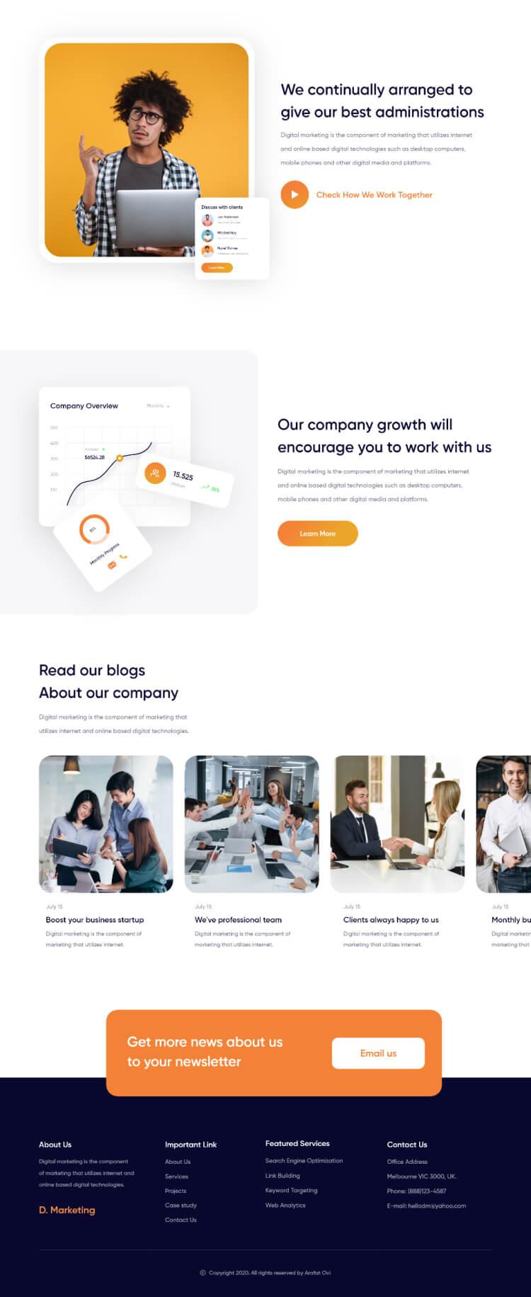 Merkary Marketing Web 3 - UI Freebies