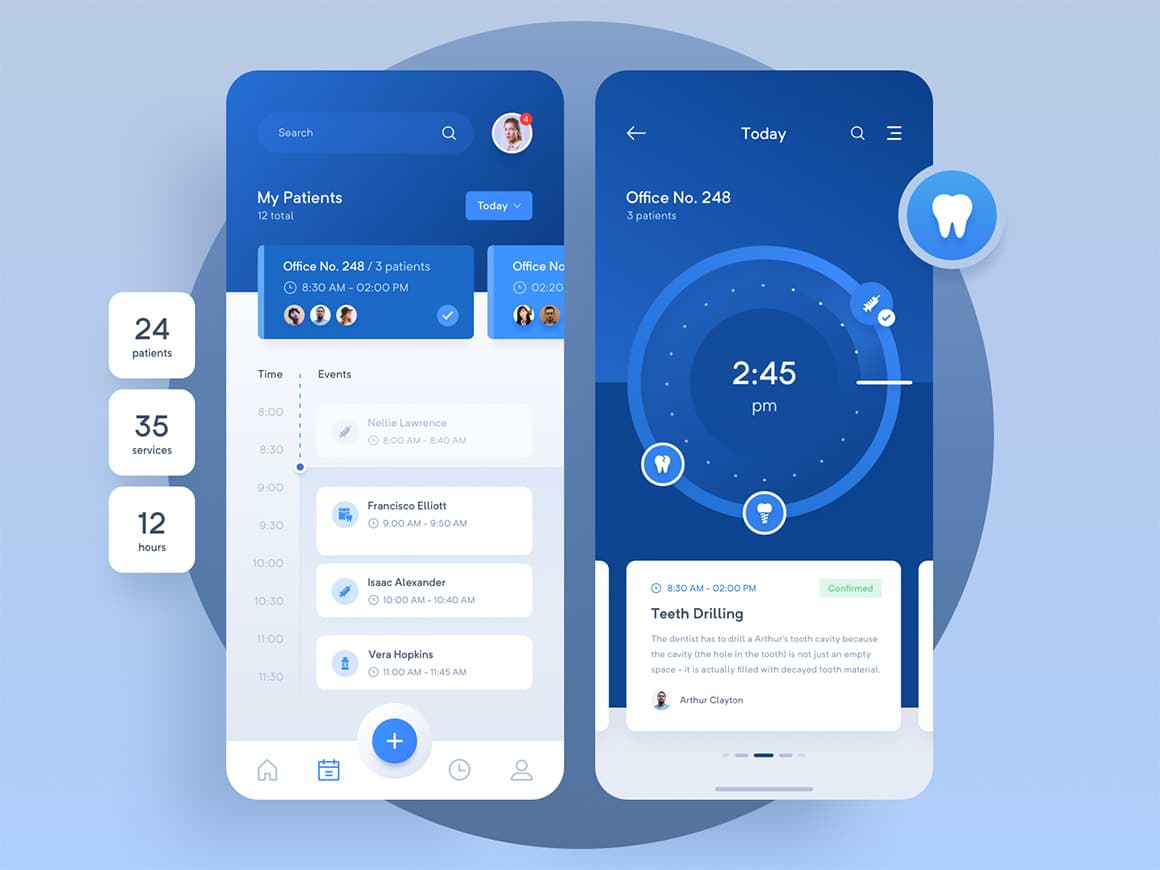 Pharmacy Medical App 2 - UI Freebies