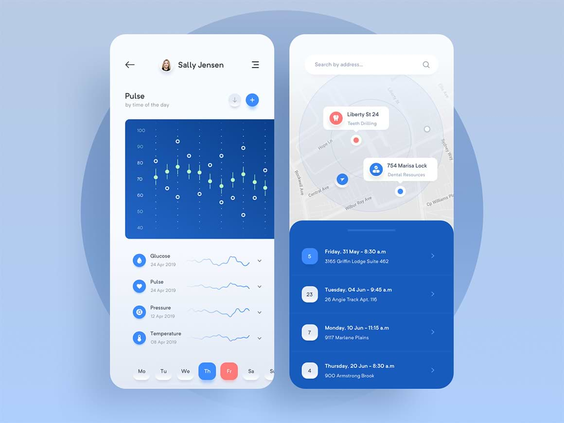 Pharmacy Medical App 3 - UI Freebies