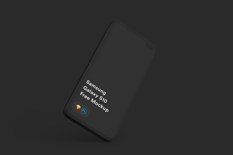 Samsung Galaxy S10 Mockup 3 - UI Freebies
