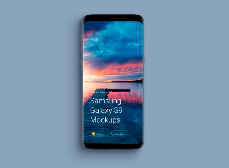 Samsung Galaxy S9 Mockup 2 - UI Freebies
