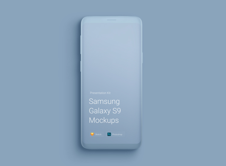 Samsung Galaxy S9 Mockup 3 - UI Freebies