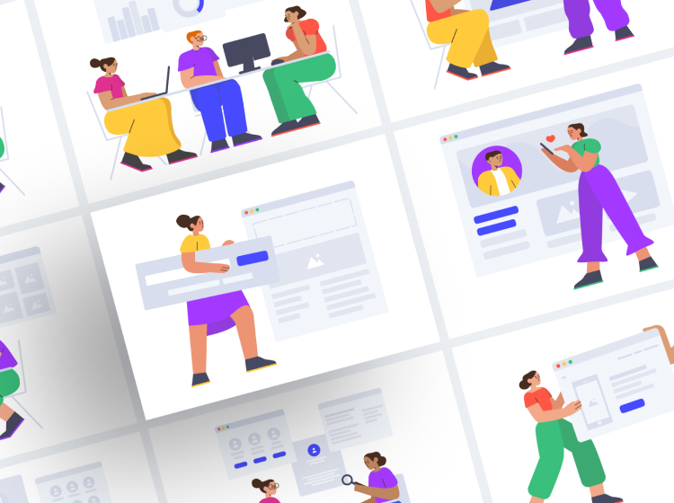 Smash Illustrations Free - UI Freebies