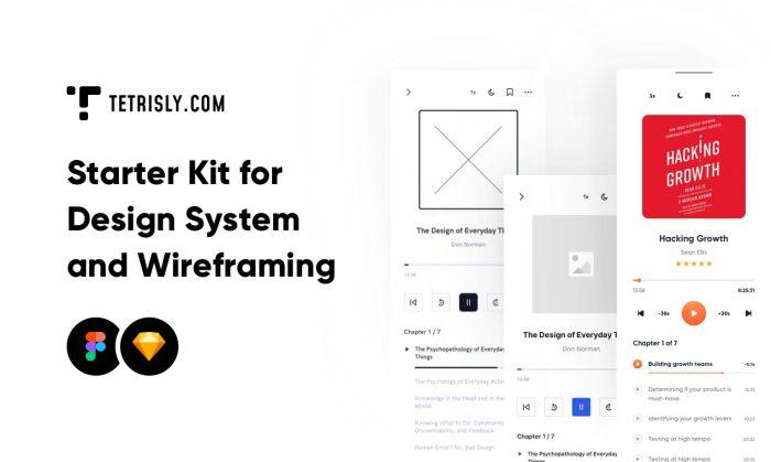 Sketch Design System Kit Free - UI Freebies