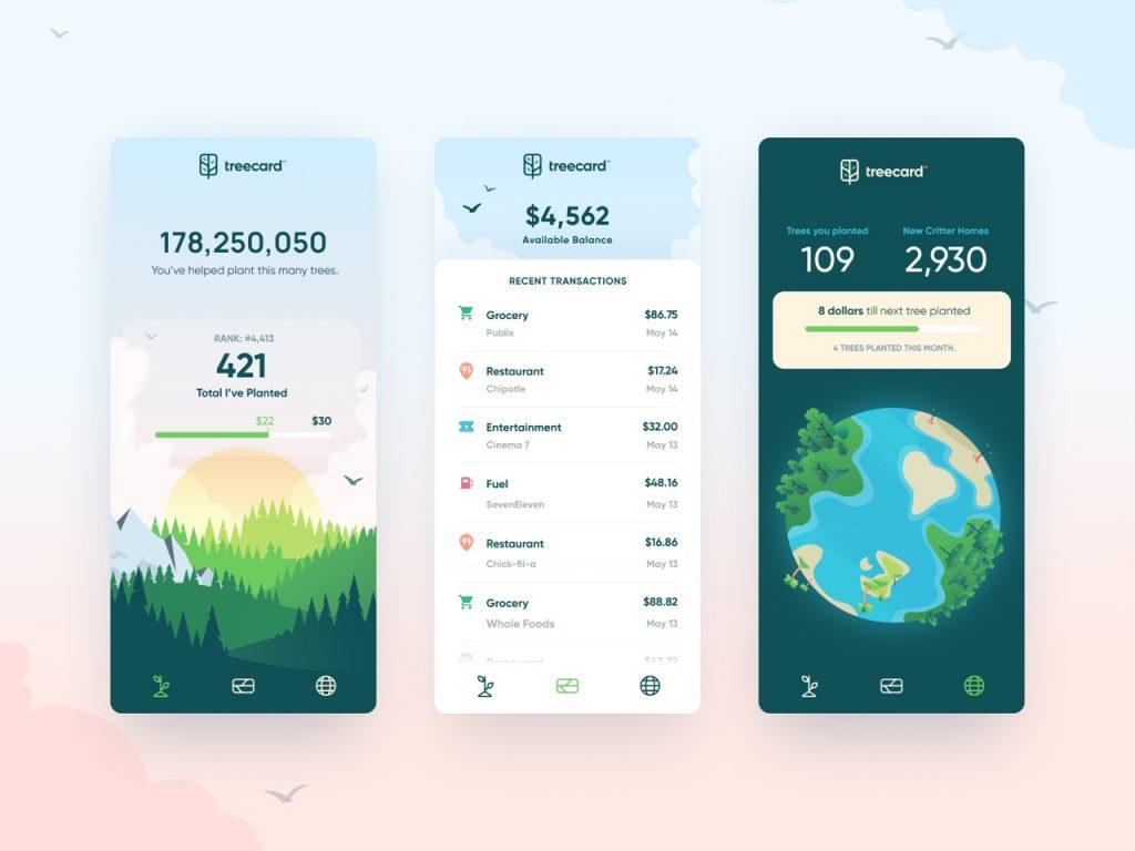 best app design inspiration on dribbble 01 1024x768 1 - UI Freebies