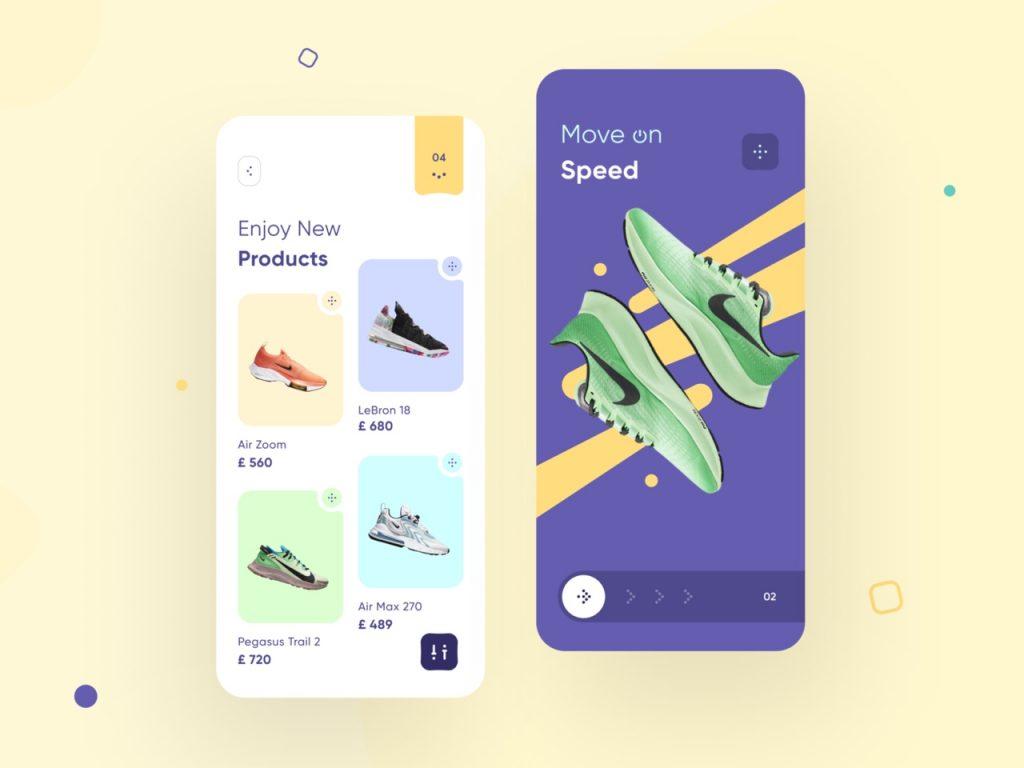 best app design inspiration on dribbble 02 1024x768 1 - UI Freebies