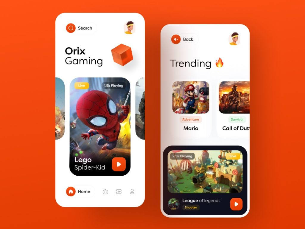 best app design inspiration on dribbble 05 1024x768 1 - UI Freebies