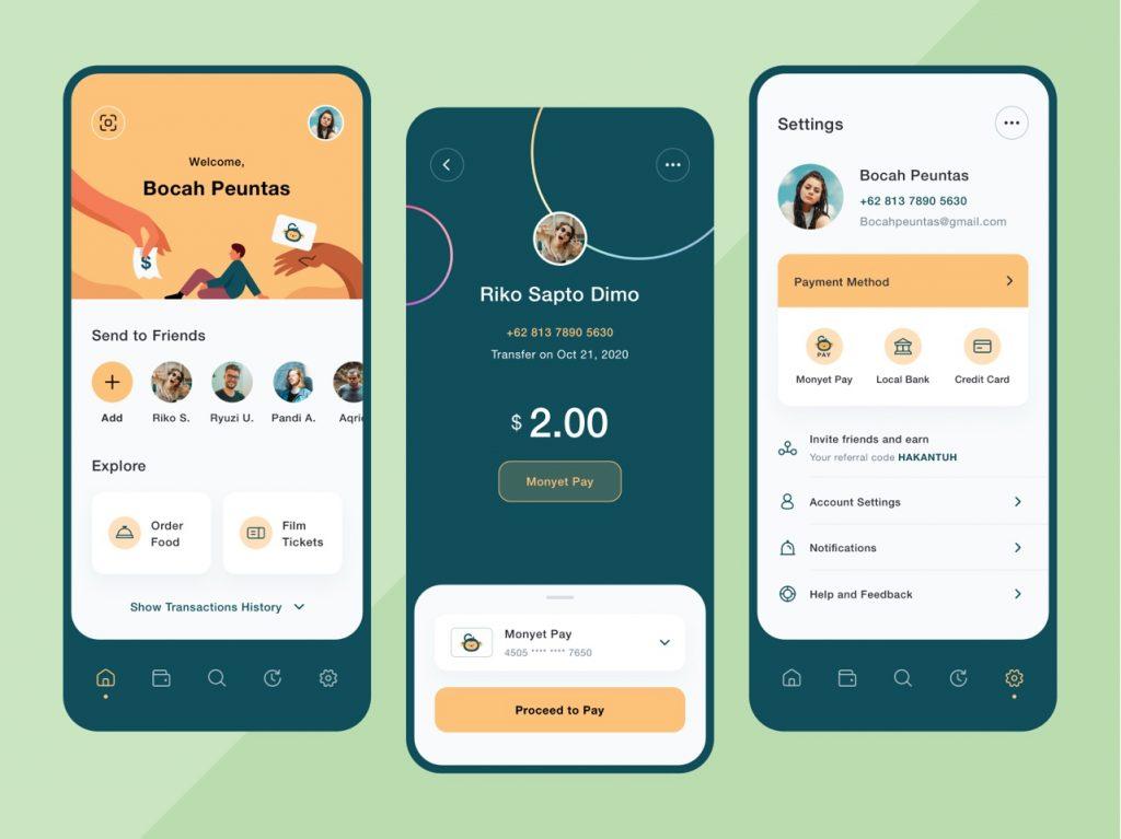 best app design inspiration on dribbble 10 1024x767 1 - UI Freebies