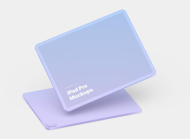 iPad Pro Mockup 2 - UI Freebies