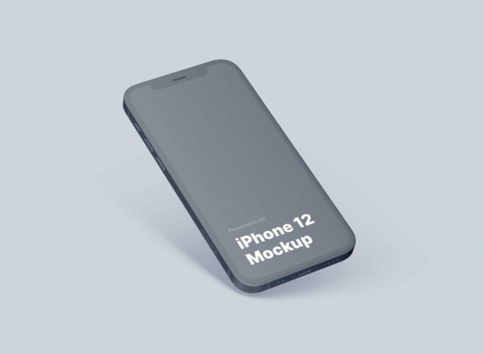 iPhone 12 Mockup 4 - UI Freebies