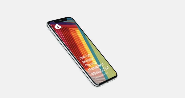 iPhone X Template Mockups 2 - UI Freebies